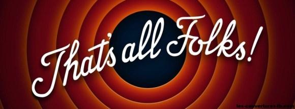 that's all folks -Photo de couverture journal Facebook