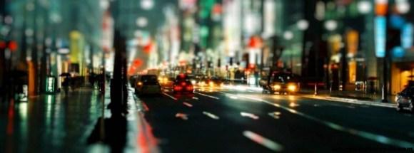 Tokyo de nuit -Photo de couverture journal Facebook