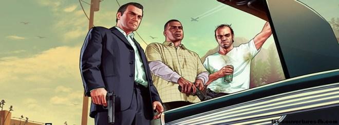 GTA 5 les 3 persos autour dun coffre