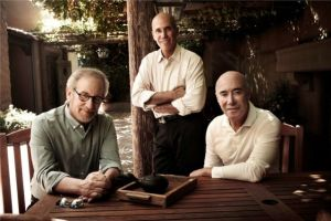 Steven Spielberg-Jeffrey Katzenberg-David Geffen