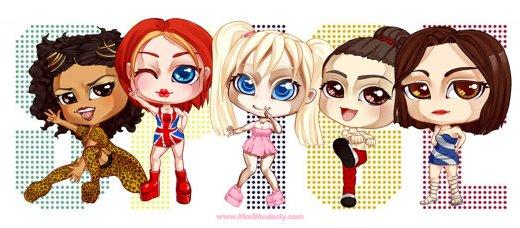 Retour des Spice Girls dans un film animé