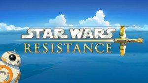 Star Wars Resistance - premier logo