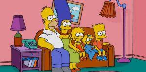 Photo de famille les Simpsons
