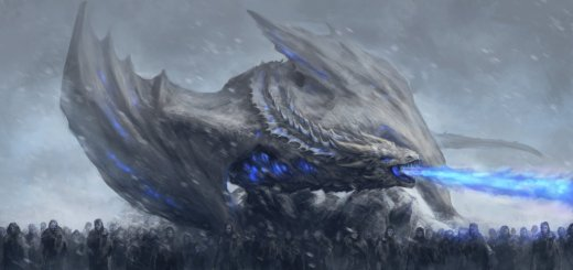 The Ice Dragon - Dragon de glace