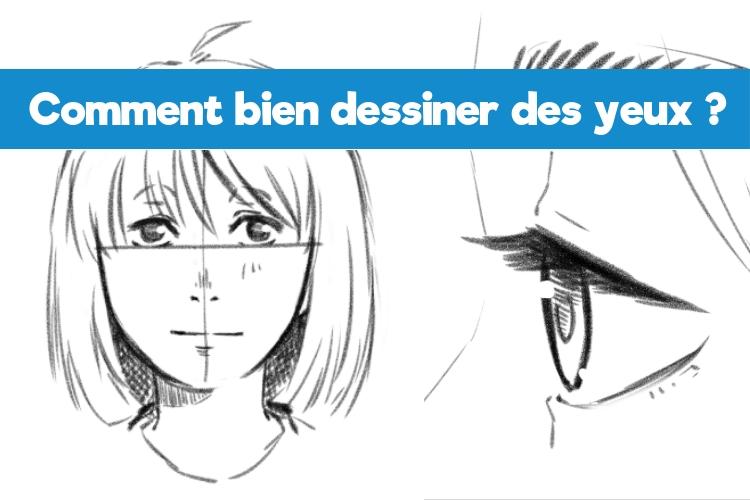 Comment bien dessiner des yeux _