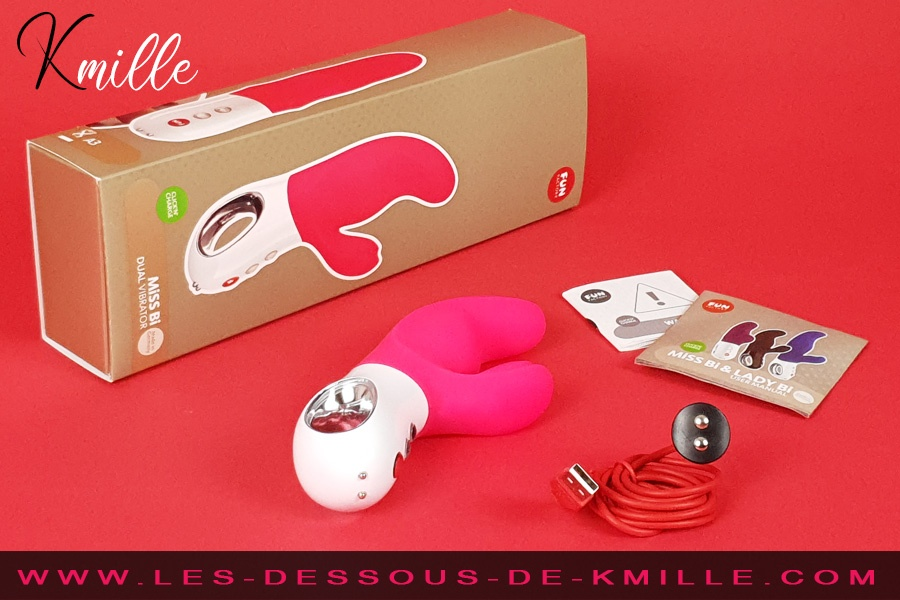 Kmille teste le vibromasseur rabbit Miss Bi, de Fun Factory.