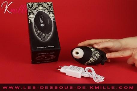 Kmille teste le Womanizer Pro W500.