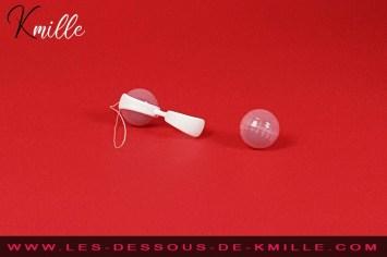Kmille teste les boules de Geisha Lelo Luna Beads Mini.