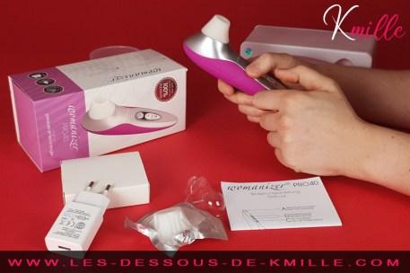 Kmille teste le stimulateur clitoridien Womanizer Pro 40
