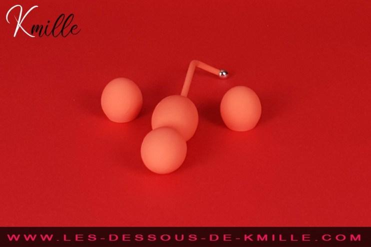 Test des boules vaginales connectées, de la marque We-Vibe.