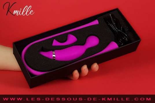 Kmille teste le stimulateur Romance 3 en 1, de la marque Pretty Love.