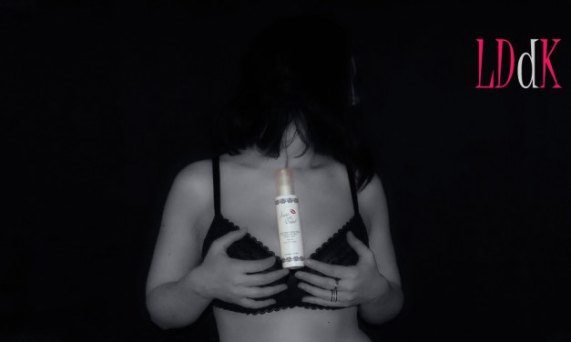 Test du lait de corps Sublime Nacré de Secret de Boudoir