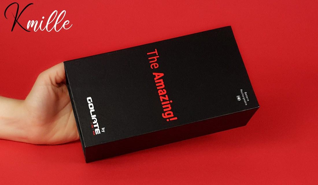 Le vibromasseur stimulateur de clitoris The Amazing, de Goliate