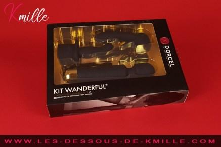 Test du coffret Wanderful avec accessoires, de la marque Dorcel.