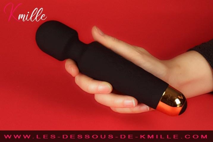 Kmille teste le coffret vibromasseur externe Wanderful, de Dorcel.