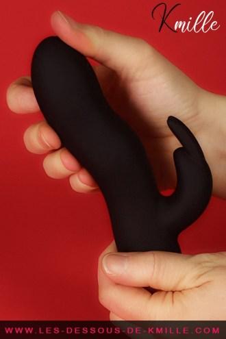 Kmille teste le vibromasseur rabbit Expert G, de la marque Dorcel.