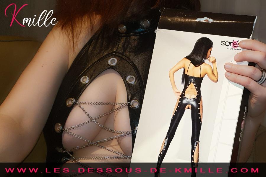 Kmille présente la combinaison Wetlook avec chaines de la marque Saresia.