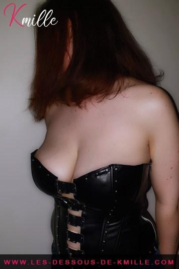 Le corset Domina de Allure Lingerie