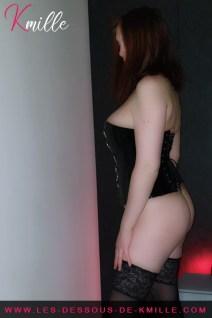 Les cadeaux de Cyllou21 - Le corset avec chaîne