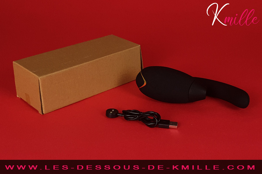 Kmille teste le double stimulateur, Womanizer InsideOut.