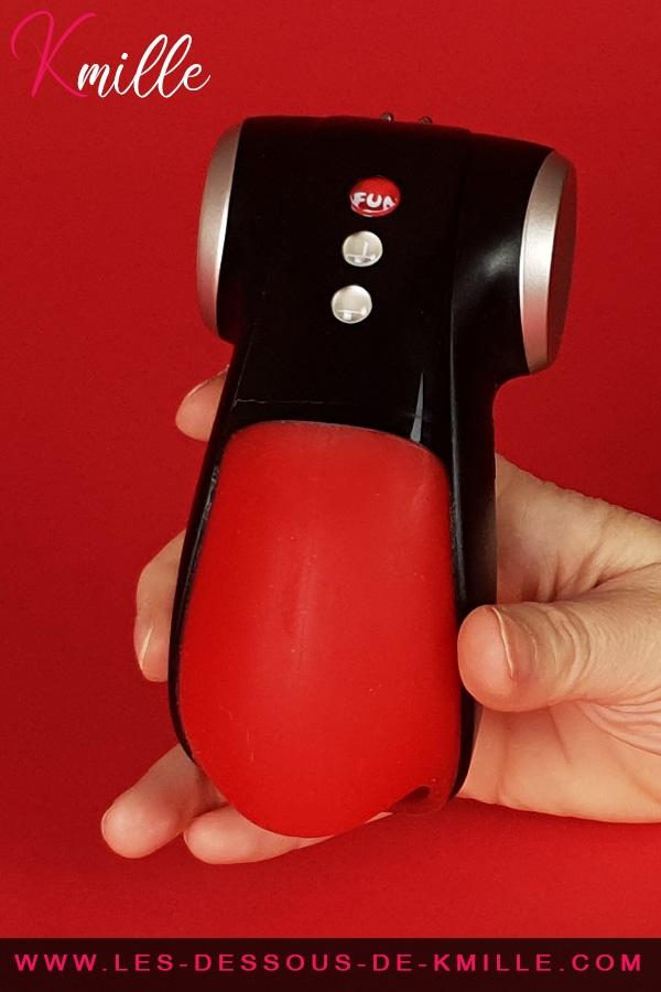Test du stimulateur de gland, de la marque Fun Factory.