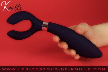 Test du stimulateur pour couple de la marque Satisfyer.