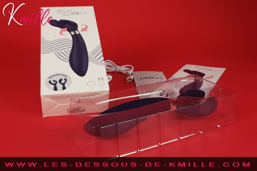 Kmille teste le stimulateur pour couple Satisfyer Partner Multifun 3.
