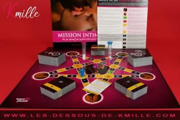 Test du jeu de société pour adulte Mission Intime de Tease & Please