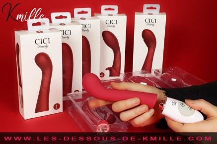 Kmille présente le coffret vibromasseur et contrôleur Cici, de Cici Beauty.