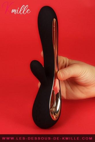 Kmille teste le vibromasseur rabbit Lelo Soraya 2.