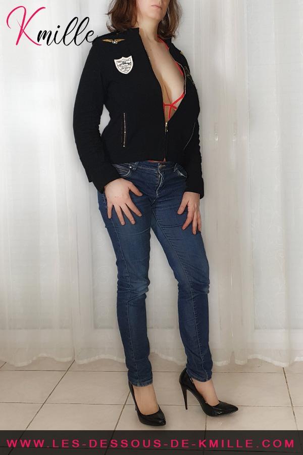 Kmille présente le body Luiza, de la marque Obsessive.