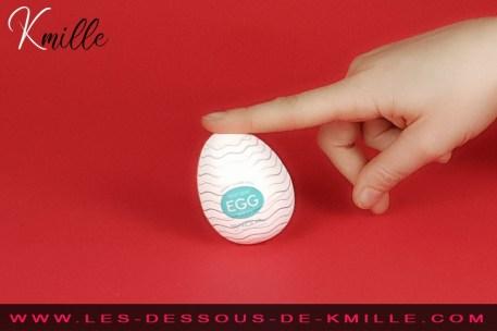 L'Oeuf de Masturbation Egg Wavy de Tenga.
