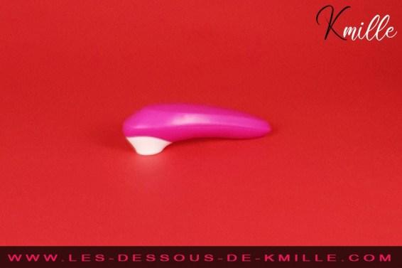 Les tests de Kmille. Le stimulateur de clitoris sans contact, ROMP Shine.