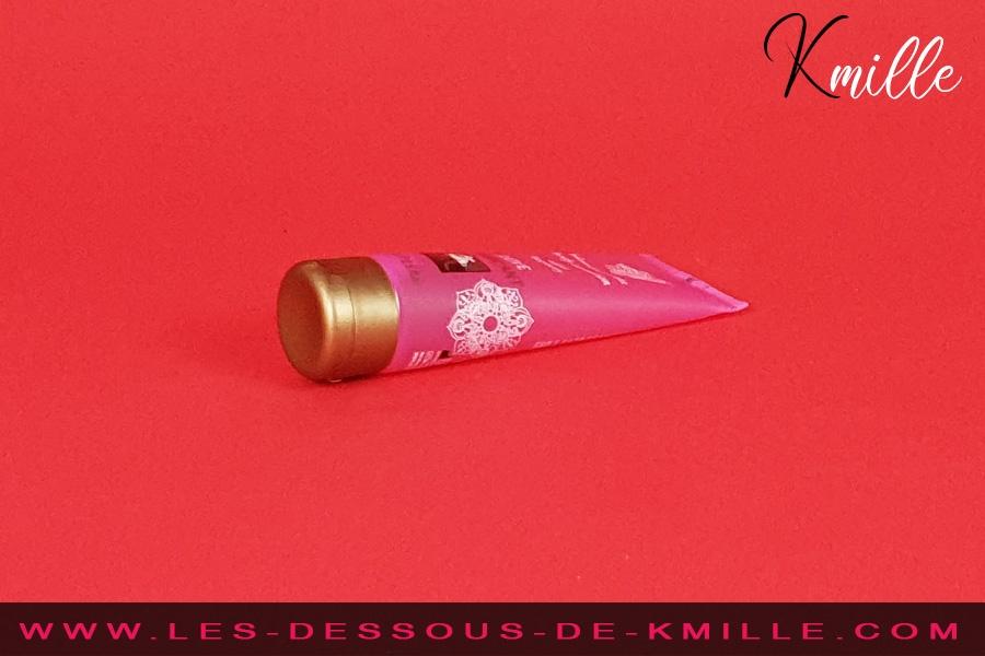 Kmille teste le lubrifiant comestible Love, de Shiatsu.