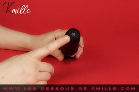 Kmille teste le vibromasseur externe connecté, de la marque Lovense.