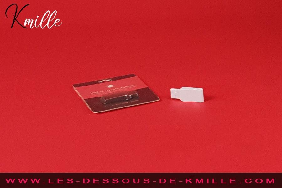 Kmille teste l'adaptateur Bluetooth USB, de la marque Lovense.