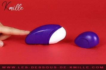 Kmille teste le stimulateur de clitoris sans contact, ROMP Free.