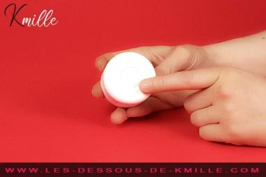 Kmille teste le stimulateur Iroha Temari, de la marque Tenga.