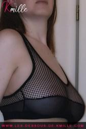 Présentation d'une pièce de lingerie, de la marque Forplay.
