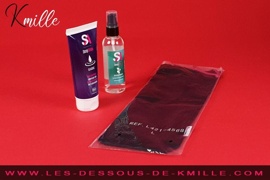 Kmille teste le pack indispensables, de la marque SexyAvenue.