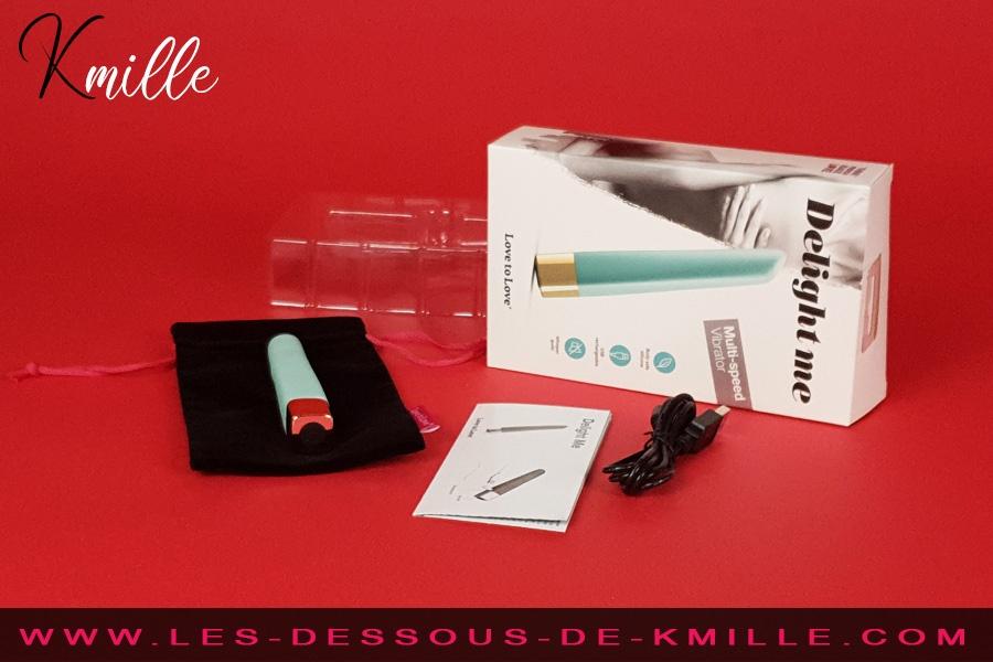 Kmille teste le vibromasseur Delight Me, de la marque Love to Love.