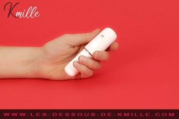 Kmille teste le vibromasseur bullet Satisfyer Secret Affair.