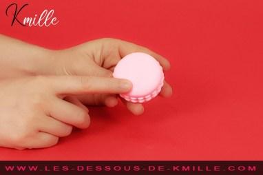 Kmille teste le stimulateur Kawaii Macaroon, de la marque Tokyo Design.