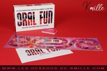 Test du jeu de l'oie pour adulte Oral Fun, de Creative Conceptions.