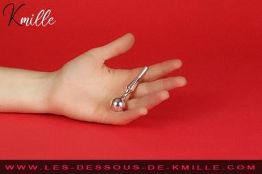 Test d'une lance pour urètre, de la marque française Diogol.