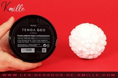 Céd' teste le masturbateur Tenga Geo Coral.