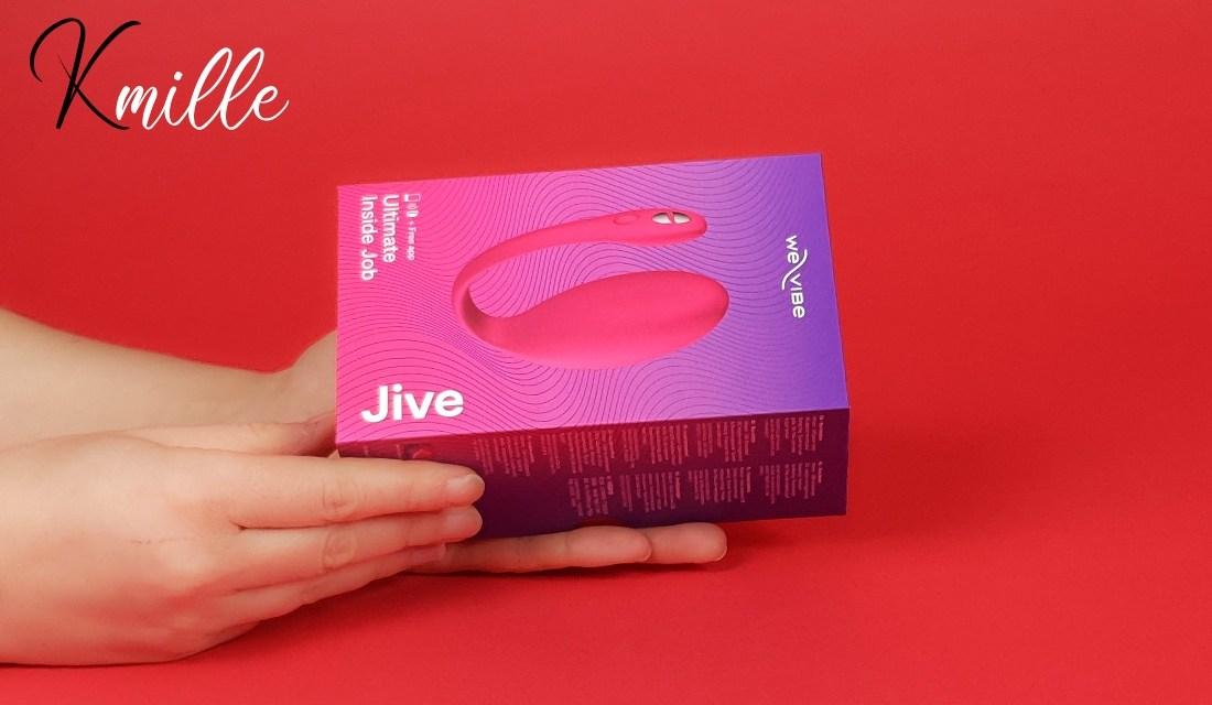 L'oeuf vibrant connecté We-Vibe Jive Rose, pour la St-Valentin !