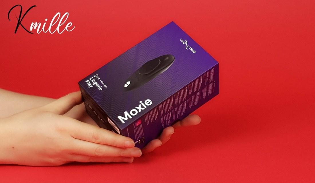 Le stimulateur connecté We-Vibe Moxie Noir, pour bien débuter 2021 !