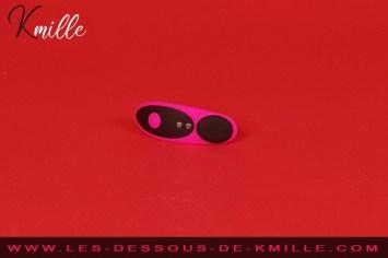 Test du stimulateur de clitoris pour culotte, de la marque Lovense.