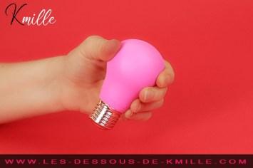 Kmille teste le vibromasseur externe GBulb, de la marque Gvibe.